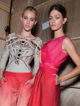 Модная инициатива:  секреты укладки от TONI&GUY Hair Meet Wardrobe