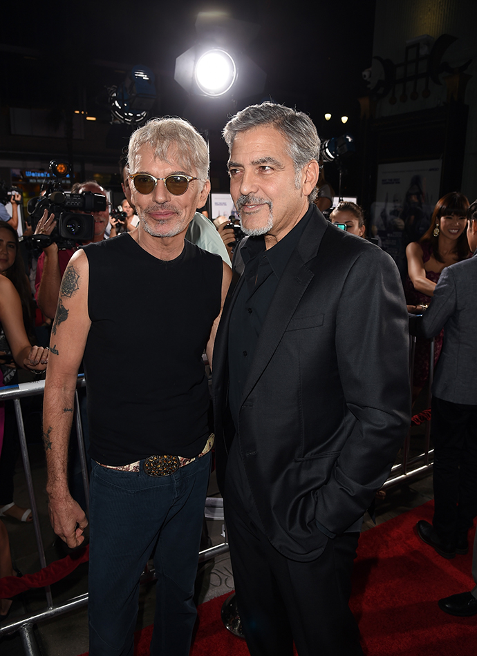 Билли Боб Торнтон и Джордж Клуни