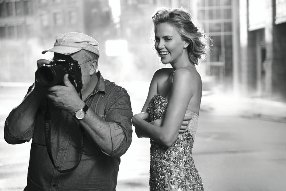 Шарлиз Терон в новой рекламной кампании аромата J'adore Dior