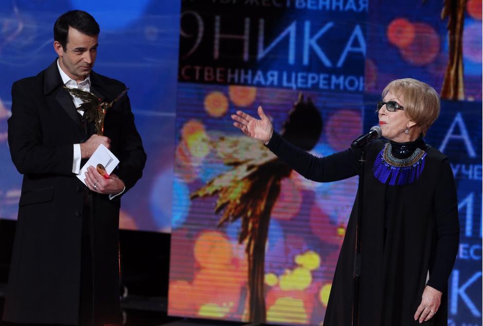 Дмитрий Певцов и Инна Чурикова