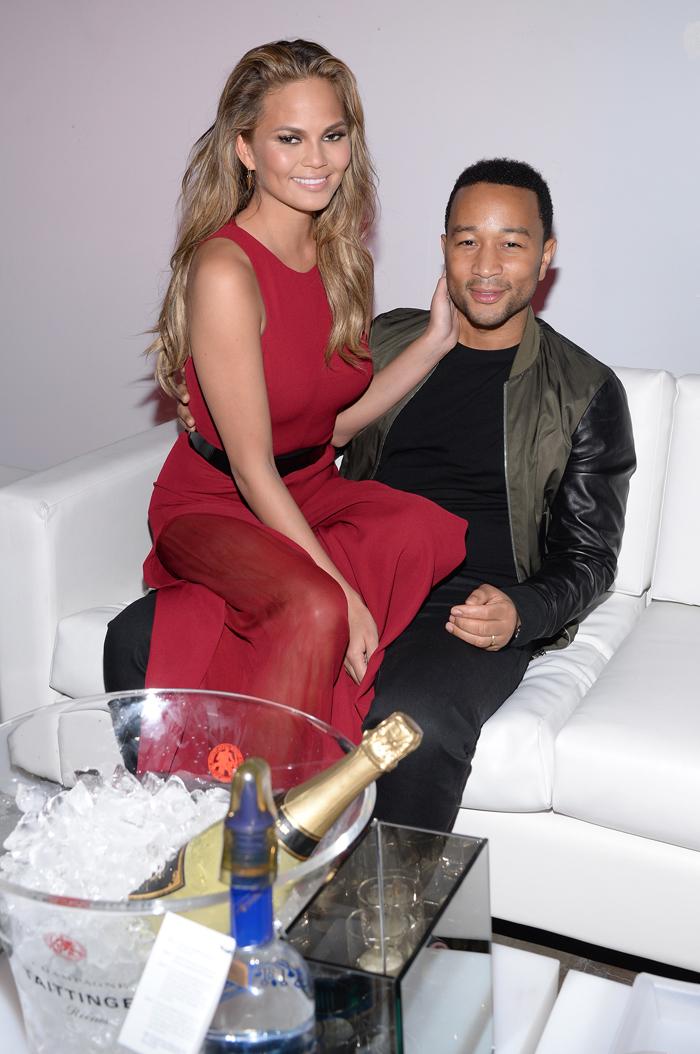 Крисси Тейген с мужем