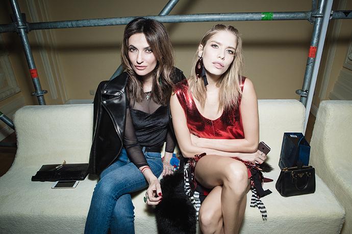 Снежана Георгиева и Елена Перминова