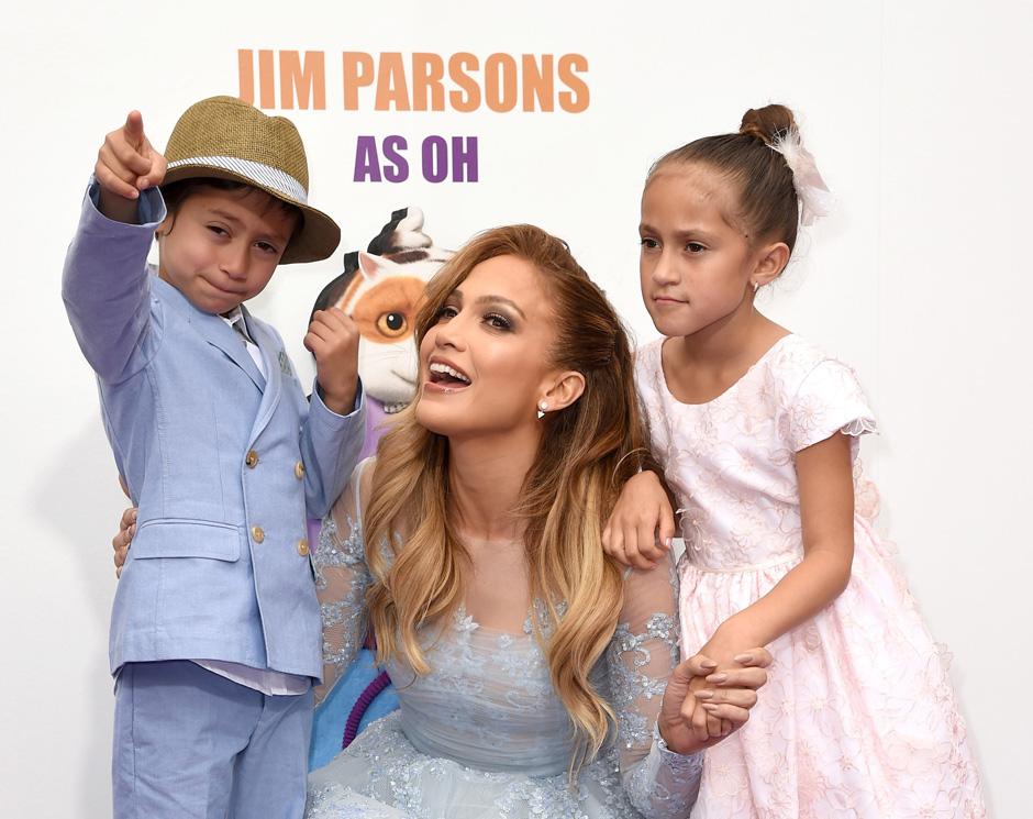 Дженнифер Лопес поделилась секретами воспитания детей