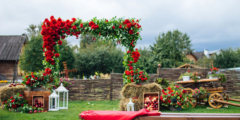 Весенняя свадьба: оформление | галерея [4] фото [1]