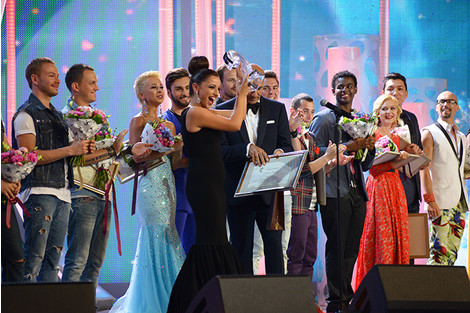 Победительница конкурса Нуца Бузаладзе