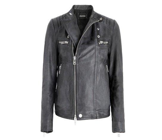 Байкерская куртка-косуха Zadig & Voltaire