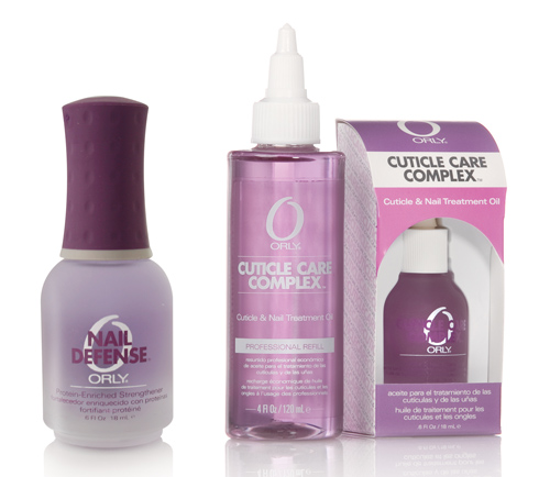 Комплекс по уходу за кутикулой Cuticle Care Complex от ORLY и средство против расслоения ногтей