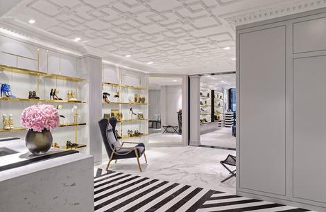 В Лондоне открылся первый флагманский магазин Aquazzura | галерея [1] фото [16]