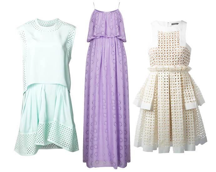 Выбор ELLE: 3.1 Philip Lim, TopShop, Alexander McQueen летние вечерние платья фото