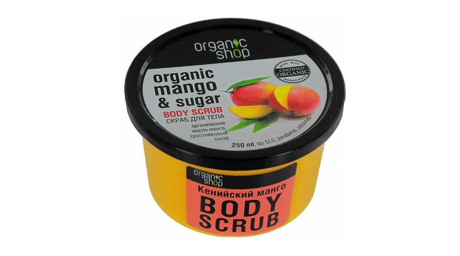 Organic Shop Organic Mango & Sugar Body Scrub