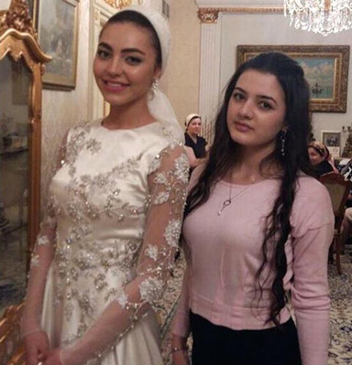 Свадьба Саида Гуцериева и Хадижи Ужаховой в Лондоне