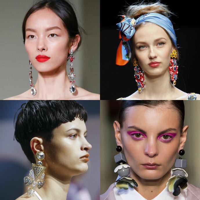 Oscar de la Renta, Dolce & Gabbana, Kenzo, Cividini