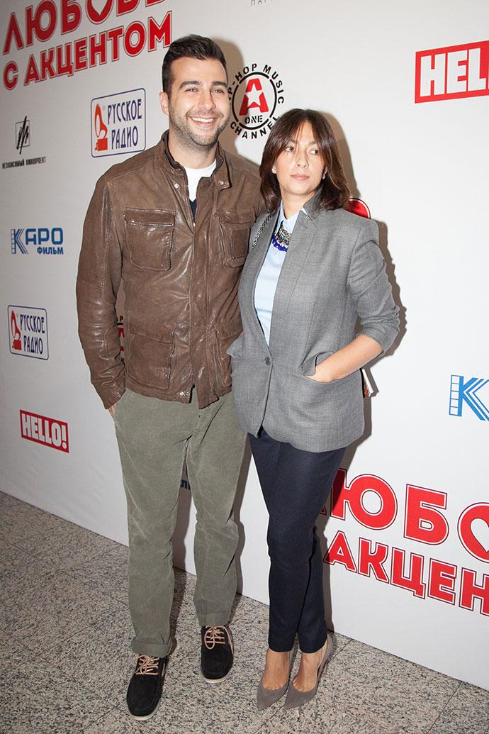Наталья Кикнадзе и Иван Ургант