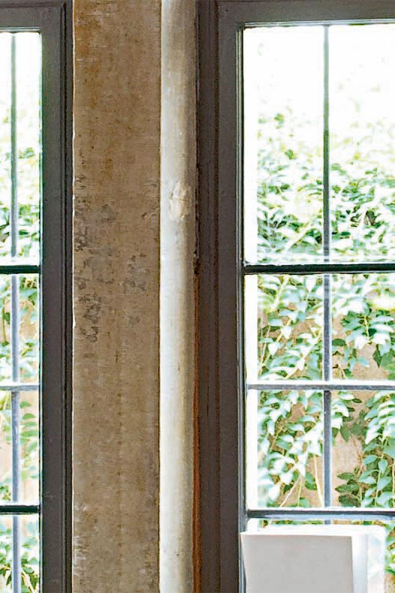 окна в сад