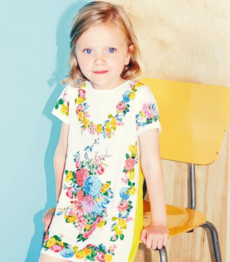 Stella McCartney детская мода весна-лето 2014