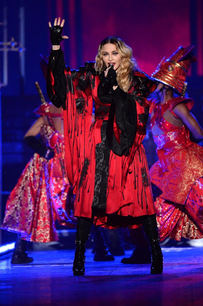 Мадонна дала первый концерт в рамках мирового турне Rebel Heart