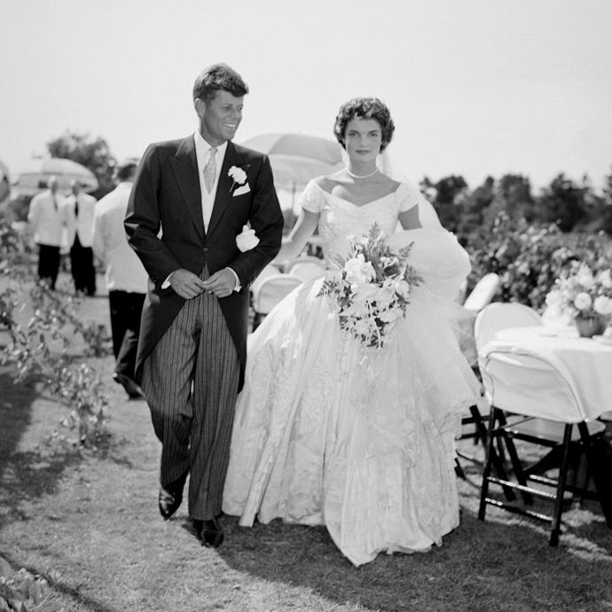 Джон Кеннеди и Жаклин Ли Бувье свадьба