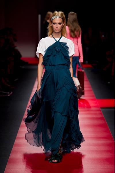 50 лучших платьев Недели моды в Милане | галерея [1] фото [6]
