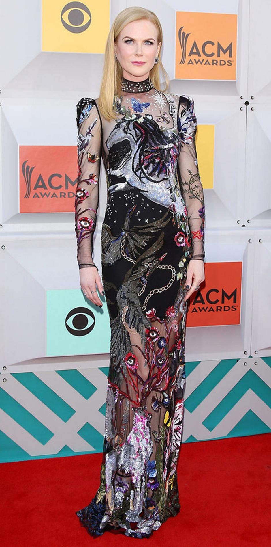 В платье Alexander McQueen, 2016 год