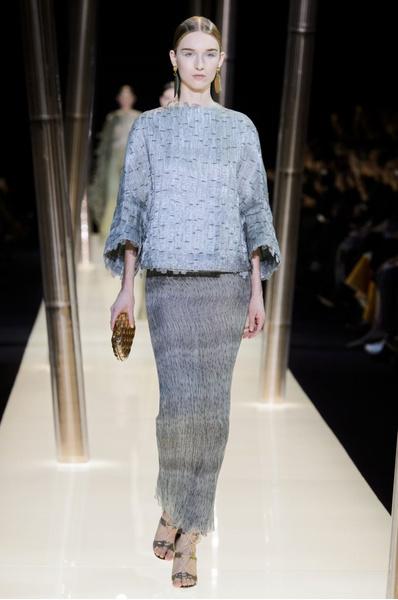 На Неделе высокой моды в Париже прошел юбилейный показ Giorgio Armani Prive | галерея [1] фото [19]