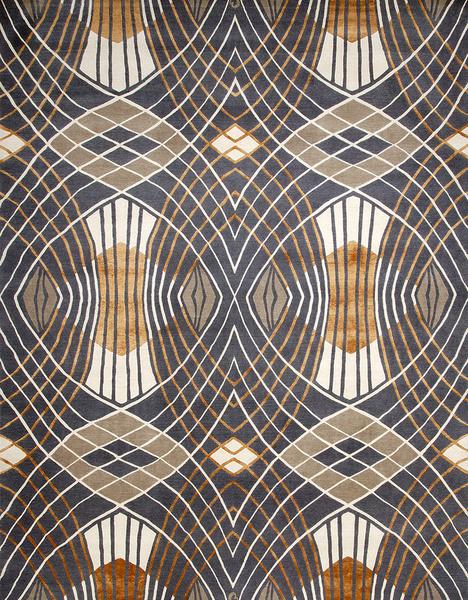 Ковер Westchester, дизайн Кэтрин Мартин, The Deco Collection, Designer Rugs, салоны DeLuxe Home Creation, шоу-румы Promemoria.