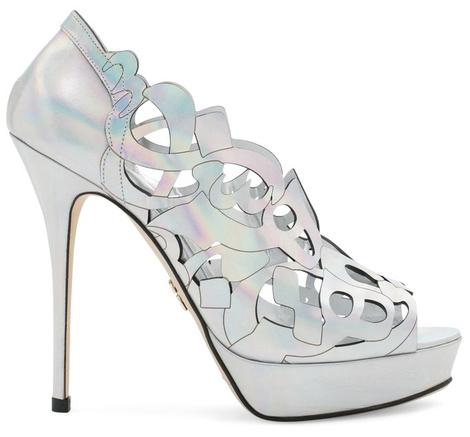 Известные дизайнеры создали свадебные модели обуви | галерея [1] фото [9]