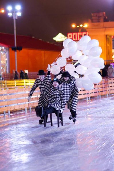 Открытие катка в Парке Горького | галерея [1] фото [7]
