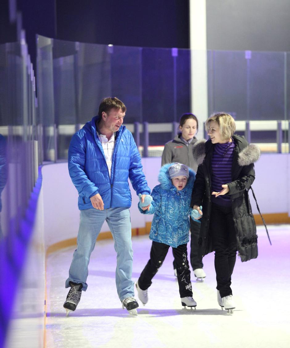 Каток в развлекательном центре Ice People, Иркутск