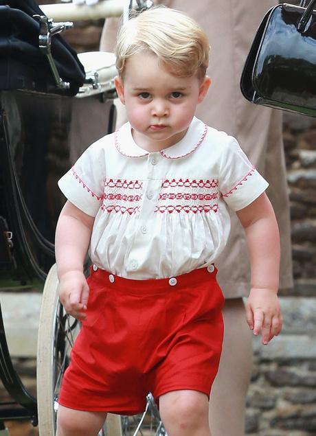 Принц Георг Кембриджский: фото