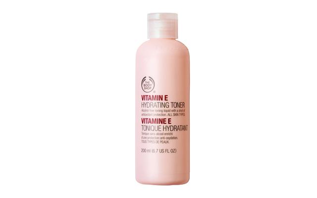 Увлажняющий тоник Vitamin E, The Body Shop