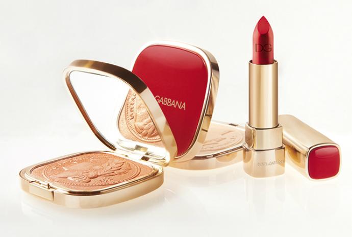 Рождественская коллекция макияжа Dolce&Gabbana Make Up