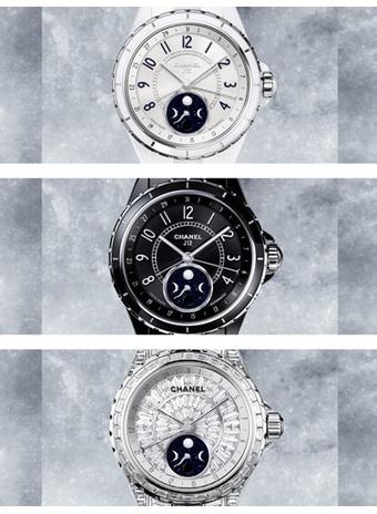 Бренд Chanel представил новую модель часов J12 Moonphase