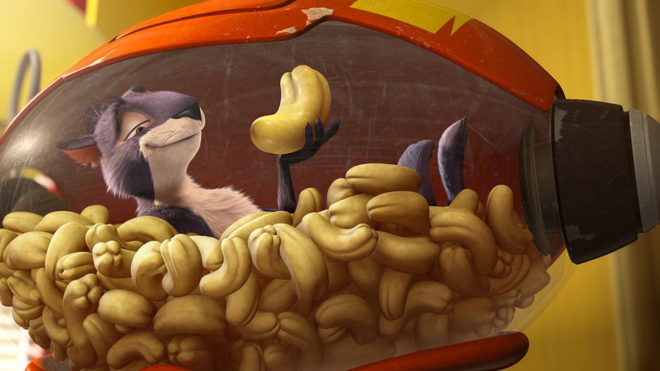 Кадр из мульфильма «Реальная белка»
