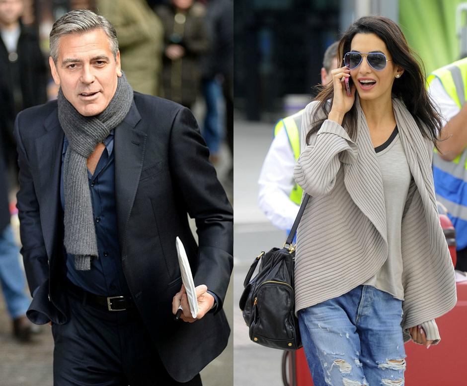 Джордж Клуни и Амаль Аламуддин: фото