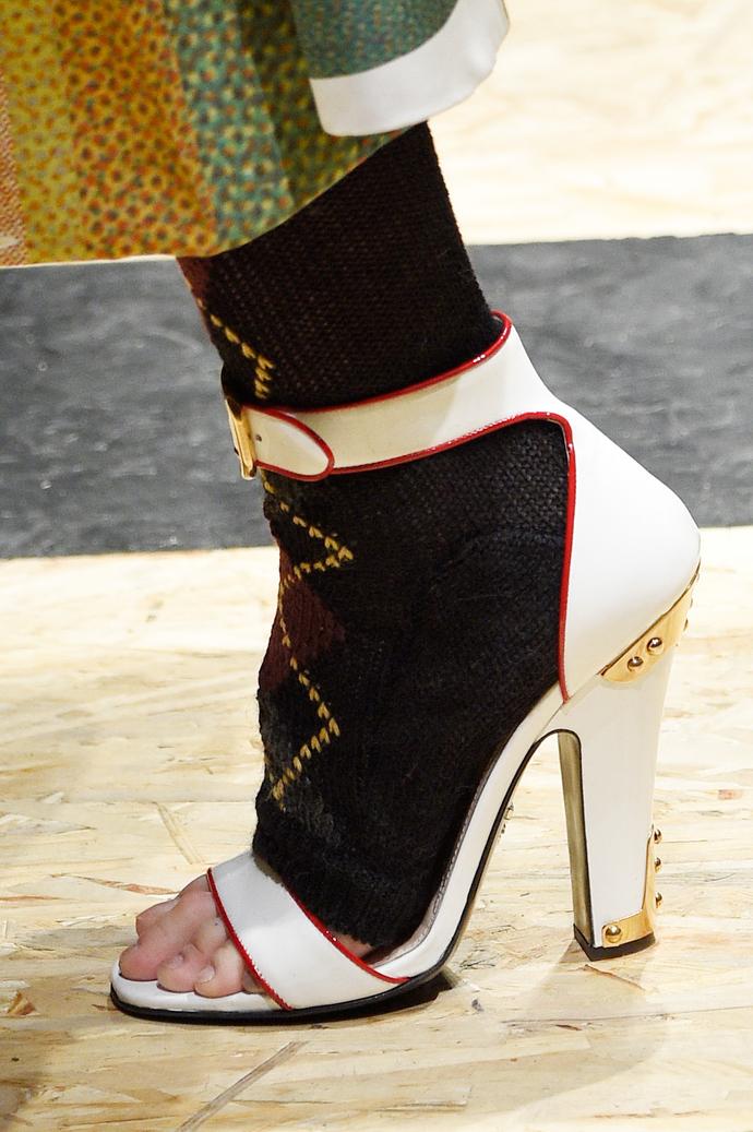 Показ Prada на Неделе моды в Милане