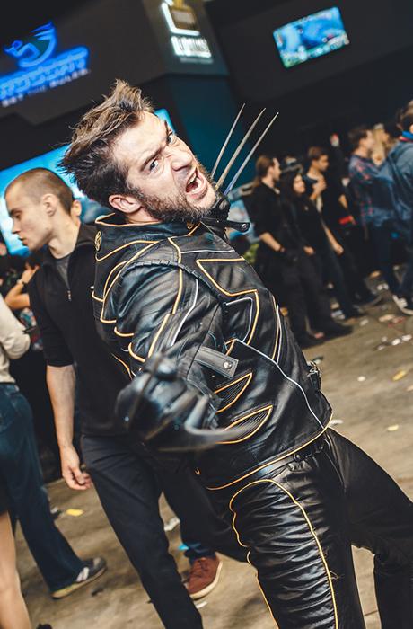 """""""Росомаха"""" на Comic Con Russia 2015"""