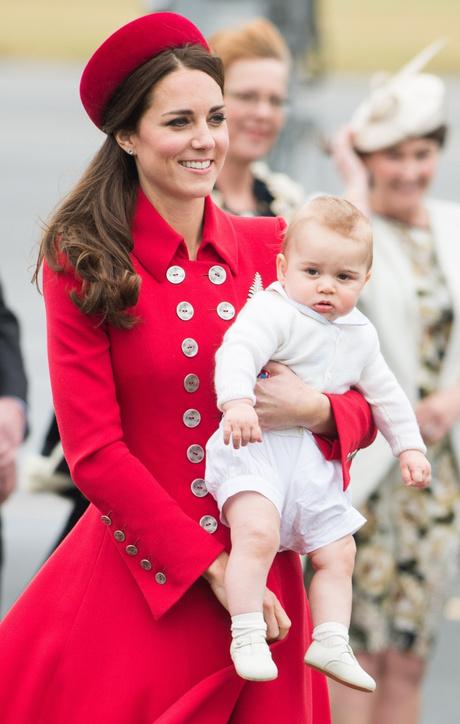 герцогиня кембриджская и принц джордж