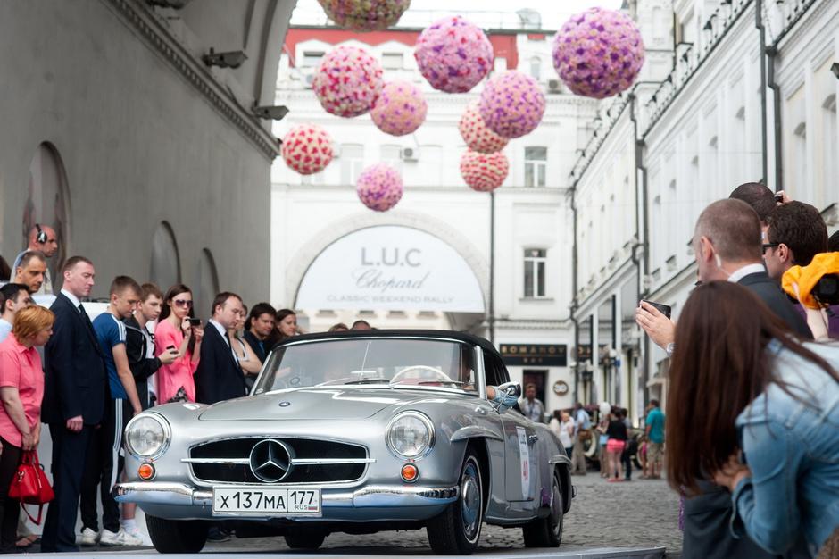 Chopard открывает регистрацию на ежегодное ралли старинных автомобилей