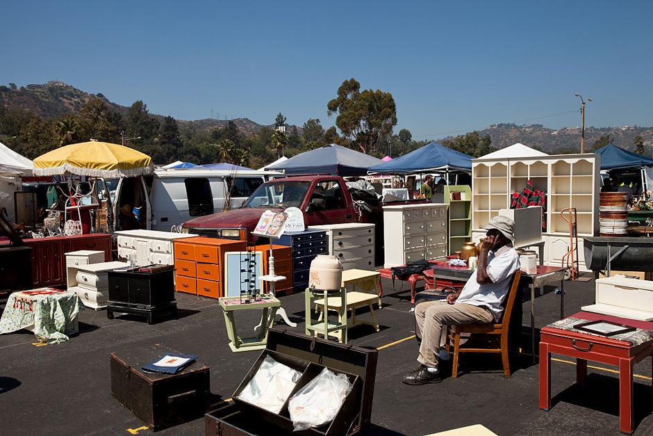 Блошиный рынок в Пасадене