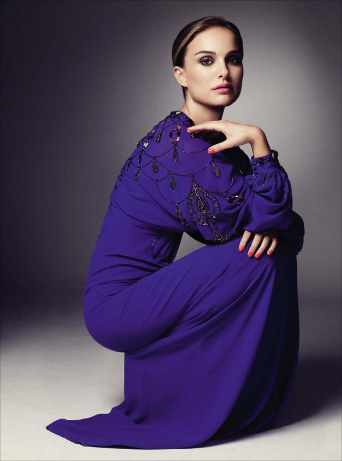 Натали Портман в Dior Haute Couture