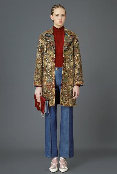 Главные тренды pre-fall коллекции Valentino | галерея [4] фото [2]