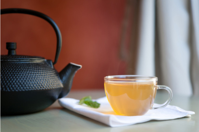 Китайский чугунный чайник