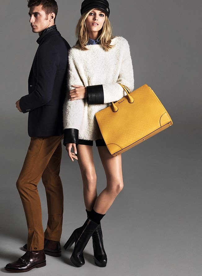 Коллекция Gucci pre-fall 2014: сумки и верхняя одежда