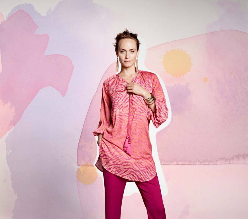 Амбер Валлетта снялась в рекламной кампании H&M Conscious Collection