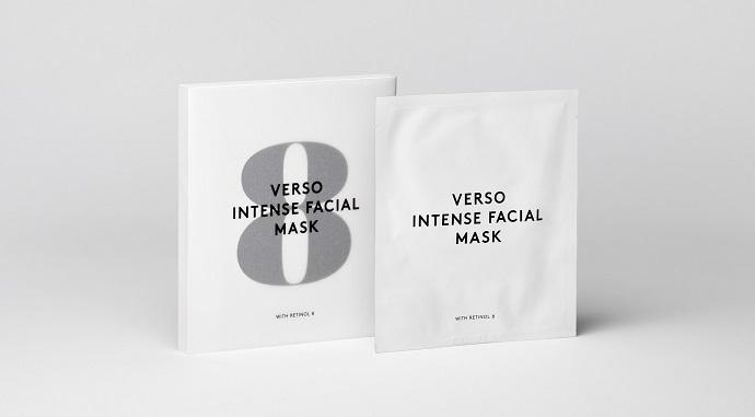 Питательная гидрогелевая маска Intense Facial Mask от Verso