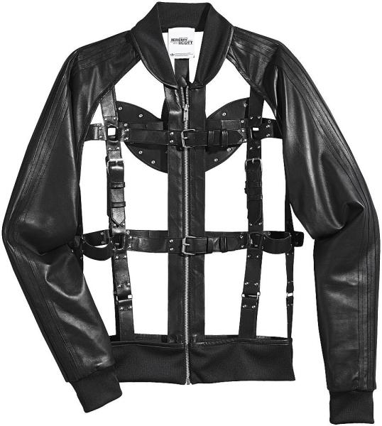 Куртка в стиле бондаж
