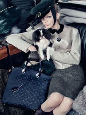 Рекламная кампания Louis Vuitton сезона осень-зима 2011-2012