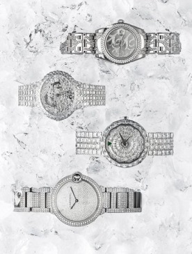 Часы и бриллианты