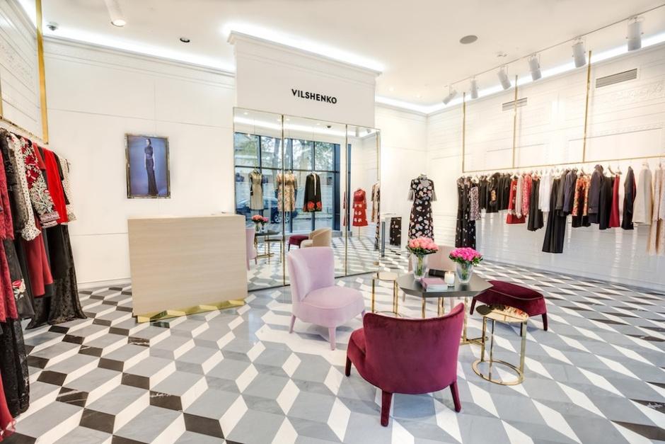 Открытие бутика российской марки Vilshenko