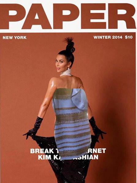 А вы еще не забыли скандальную обложку с Ким Кардашьян